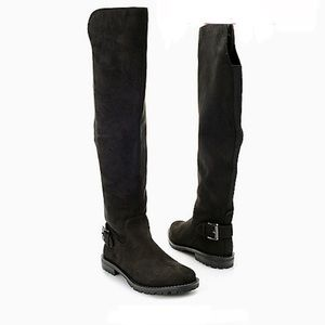 G.H.Bass & Co Suede Over The Knee Boots